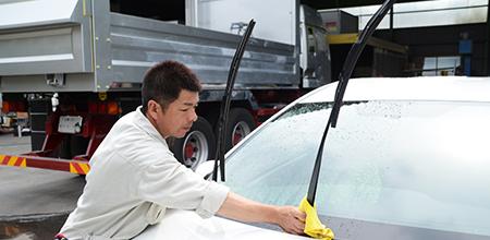 洗車&撥水コート無料